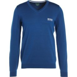 Swetry klasyczne męskie: BOSS Green VEEH PRO Sweter open blue