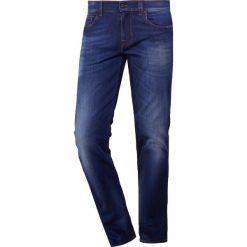 7 for all mankind SLIMMY Jeansy Slim Fit dark blue. Niebieskie jeansy męskie regular 7 for all mankind, z bawełny. Za 1009,00 zł.