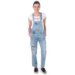 Boyfriendy damskie: Pepe Jeans Kombinezon Damski Jodie Xs Niebieski