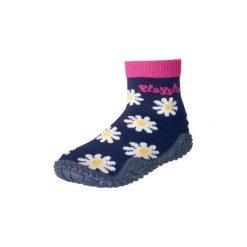Playshoes  Buty do wody Margarite marine - niebieski. Niebieskie buciki niemowlęce marki Playshoes, z elastanu. Za 39,00 zł.