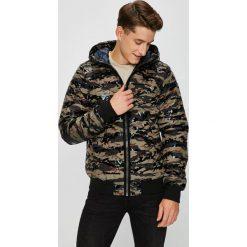 G-Star Raw - Kurtka. Czarne kurtki męskie pikowane marki G-Star RAW, m, z elastanu, retro, z kapturem. Za 899,90 zł.