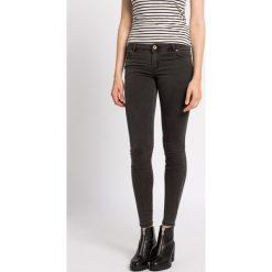 Review - Jeansy. Szare jeansy damskie marki Review, l, z tkaniny, z okrągłym kołnierzem. W wyprzedaży za 99,90 zł.