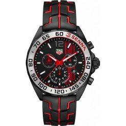 ZEGAREK TAG HEUER FORMULA 1 SENNA CAZ1019.FT8027. Czarne zegarki męskie marki KALENJI, ze stali. Za 6790,00 zł.