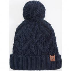 Czapka - Granatowy. Niebieskie czapki męskie Reserved. Za 49,99 zł.