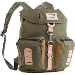 Plecak DOUGHNUT - D200-4614-F  Nevada Forest Green X Khaki. Zielone plecaki męskie Doughnut, z materiału. W wyprzedaży za 229,00 zł.