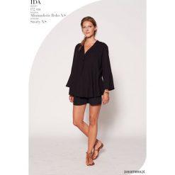 Bluzki asymetryczne: Bluzka LEN IT BE czarna