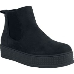 Trampki i tenisówki damskie: Refresh Slip On Ankle Boots Buty czarny