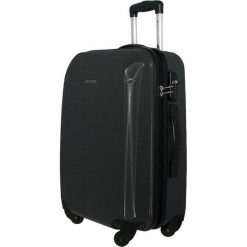 Średnia Twarda Walizka PUCCINI - PC005B-8 Czarny. Czarne walizki marki Puccini, z tworzywa sztucznego, średnie. W wyprzedaży za 239,00 zł.