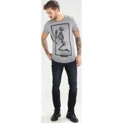 T-shirty męskie z nadrukiem: Religion BRAND SKELETON Tshirt z nadrukiem dark grey