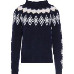 Tiger of Sweden TYKHO    Sweter light ink. Brązowe swetry klasyczne męskie marki Tiger of Sweden, m, z wełny. W wyprzedaży za 575,40 zł.