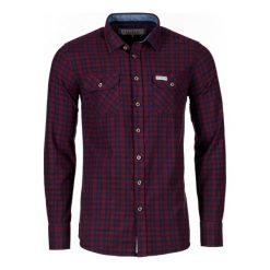 Brakeburn Koszula Męska M Burgundowa. Czerwone koszule męskie na spinki marki Brakeburn, m, w kratkę. W wyprzedaży za 179,00 zł.