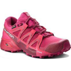 Buty SALOMON - Speedcross Vario 2 Gtx W GORE-TEX 401256 21 V0 Cerise./Beet Red/Pink Yarrow. Czarne buty sportowe damskie marki Salomon, z gore-texu, na sznurówki, outdoorowe, gore-tex. W wyprzedaży za 449,00 zł.