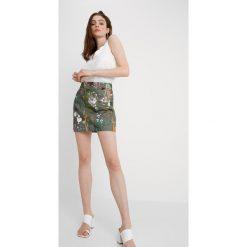 Minispódniczki: Topshop HAWAIIAN Spódnica trapezowa khaki
