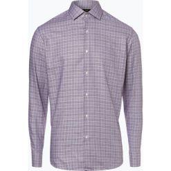 BOSS - Koszula męska – Gordon, lila. Czarne koszule męskie na spinki marki Boss, m. Za 429,95 zł.
