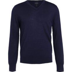 Swetry klasyczne męskie: J.CREW ITALIAN Sweter indigo sea