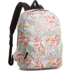 Plecak VANS - Realm Backpack V000NZ0P3VA White Calfio. Brązowe plecaki męskie marki Vans. W wyprzedaży za 139,00 zł.