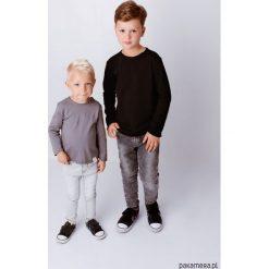 Longsleeve - Czarny. Białe t-shirty chłopięce z długim rękawem marki UP ALL NIGHT, z bawełny. Za 89,00 zł.