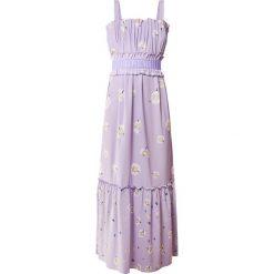 Holzweiler STEEN Długa sukienka daisy lavender. Szare długie sukienki marki Alma en Pena, z materiału, na płaskiej podeszwie. W wyprzedaży za 779,35 zł.