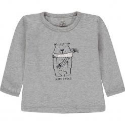 Koszulka w kolorze szarym. Białe t-shirty chłopięce z długim rękawem marki UP ALL NIGHT, z bawełny. W wyprzedaży za 49,95 zł.