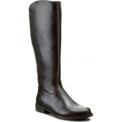 Oficerki BALDACCINI - 521200-020 Czarny S. Czarne buty zimowe damskie marki Baldaccini, ze skóry, na obcasie. W wyprzedaży za 329,00 zł.