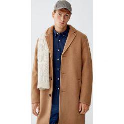 Flanelowa koszula basic. Brązowe koszule męskie Pull&Bear, m. Za 89,90 zł.
