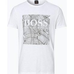 BOSS Casual - T-shirt męski – Tarit 1, czarny. Czarne t-shirty męskie z nadrukiem BOSS Casual, l. Za 249,95 zł.