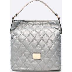 Monnari - Torebka. Brązowe torebki klasyczne damskie marki Monnari, w paski, z materiału, średnie. W wyprzedaży za 139,90 zł.