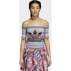 Bluzki damskie: Adidas Koszulka damska Off Should Top multikolor r. 32 (CW1392)