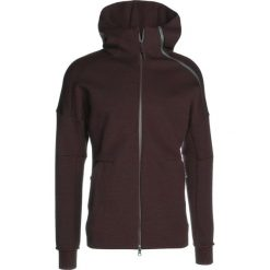 Bluzy męskie: adidas Performance ZNE HOODIE Bluza rozpinana grey/dark red