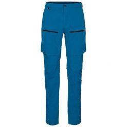 Odlo Spodnie tech. Odlo Pants SOLITUDE                           - 527982 - 527982/20332/52. Niebieskie spodnie sportowe damskie marki Odlo. Za 306,57 zł.