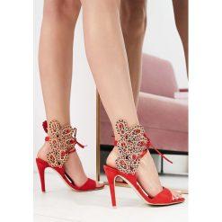 Czerwone Sandały Of The Wild. Czerwone sandały damskie marki vices, na wysokim obcasie. Za 149,99 zł.
