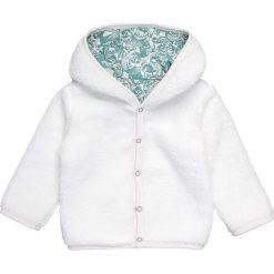 Tumble 'n dry DAAUWE Kurtka z polaru snow white. Białe kurtki chłopięce marki Tumble 'n dry, z materiału. W wyprzedaży za 127,20 zł.