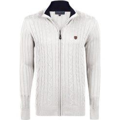 """Swetry męskie: Kardigan """"Stance"""" w kolorze kremowym"""