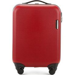 Walizka kabinowa 56-3-610-30. Czerwone walizki marki Wittchen, z gumy, małe. Za 219,00 zł.