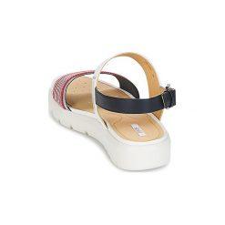 Sandały Geox  AMALITHA C. Białe sandały damskie marki Geox. Za 383,20 zł.