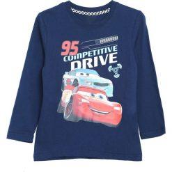 Granatowa Koszulka Long Race. Niebieskie t-shirty chłopięce Born2be. Za 29,99 zł.
