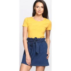 Bluzki, topy, tuniki: Żółty T-shirt World Peace