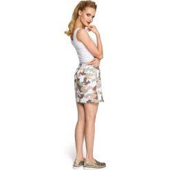 GABRIELLA Spódniczka moro - model 2. Szare minispódniczki Moe, moro, trapezowe. Za 69,90 zł.