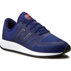 Sneakersy NEW BALANCE - KFL420VG Granatowy. Niebieskie trampki chłopięce marki New Balance, z materiału, na sznurówki. W wyprzedaży za 199,00 zł.