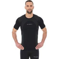 Brubeck Koszulka męska Dynamic Outdoor SS12510 czarna r. L. Czarne koszulki sportowe męskie marki Brubeck, l. Za 99,99 zł.