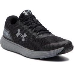 Buty UNDER ARMOUR - Ua Surge 3020336-004 Blk. Czarne buty do biegania męskie marki Under Armour, z materiału. W wyprzedaży za 169,00 zł.