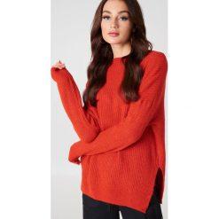 Swetry klasyczne damskie: Trendyol Sweter z półgolfem - Red