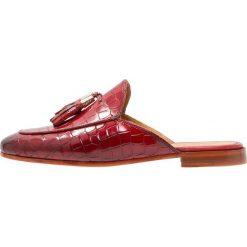 Chodaki damskie: Melvin & Hamilton SCARLETT Klapki rich red/red/burgundy