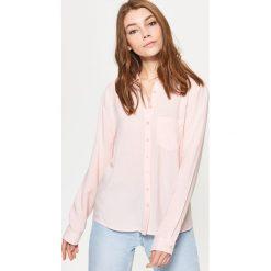 Gładka koszula - Różowy. Czerwone koszule damskie marki Cropp, l. Za 49,99 zł.