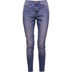 MICHAEL Michael Kors SELMA SKINNY Jeans Skinny Fit blue. Niebieskie jeansy damskie relaxed fit marki MICHAEL Michael Kors, z bawełny. W wyprzedaży za 344,50 zł.