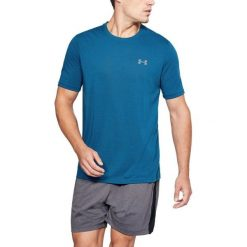 Koszulki męskie: Under Armour Koszulka męska Threadborne T-Shirt Moroccan Blue r. S (1289588487)