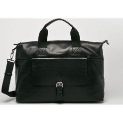 Strellson - Torba skórzana. Czarne torby na laptopa marki Strellson, w paski, z materiału. W wyprzedaży za 899,90 zł.