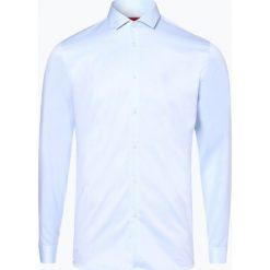 HUGO - Koszula męska łatwa w prasowaniu – Erondo, niebieski. Niebieskie koszule męskie non-iron marki HUGO, m, z bawełny. Za 349,95 zł.