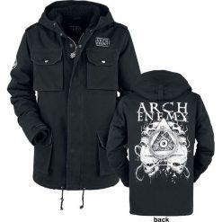 Arch Enemy EMP Signature Collection Kurtka czarny. Czarne kurtki męskie Arch Enemy, m, z aplikacjami. Za 569,90 zł.