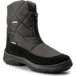 Śniegowce MANITU - 990414 Schwarz 1. Czerwone buty zimowe damskie marki Reserved, na niskim obcasie. W wyprzedaży za 289,00 zł.